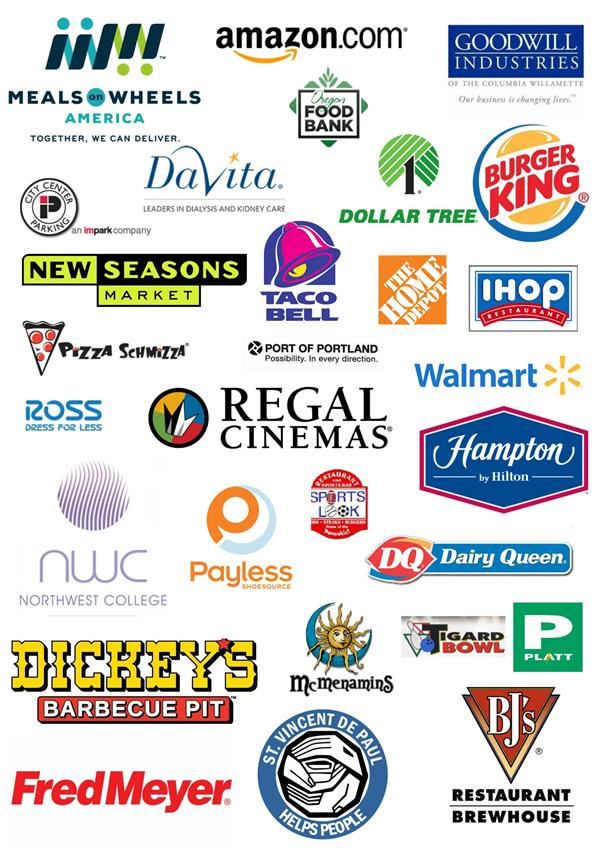 Program participants have found employment at the following companies