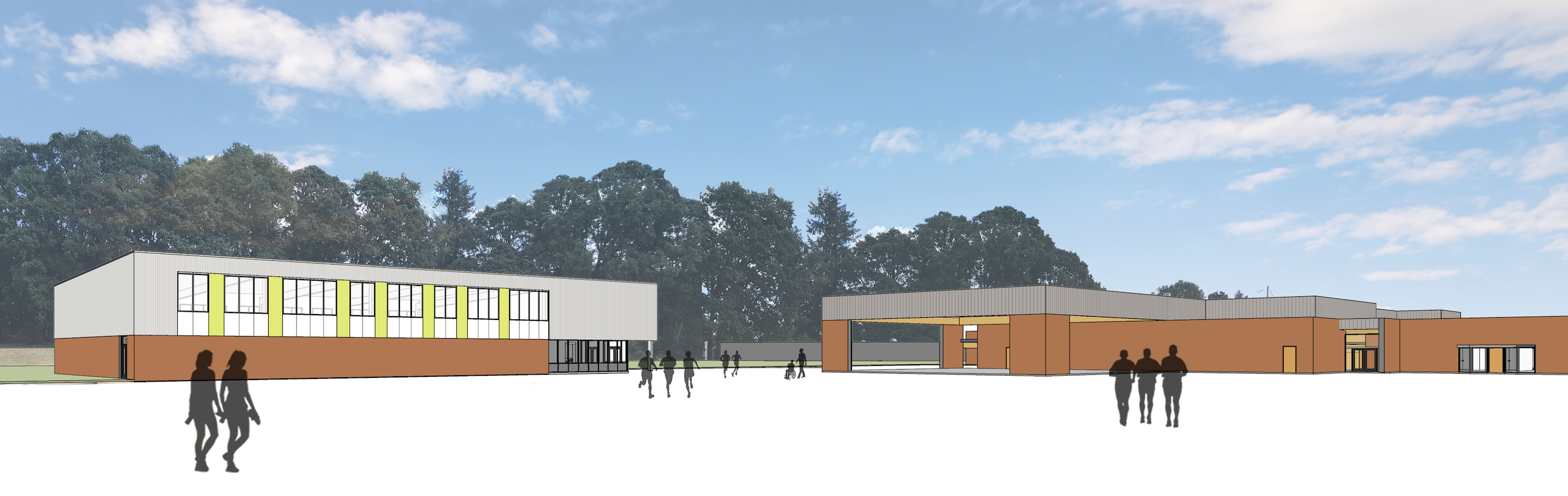 Rendering of proposed gym at Eastwood