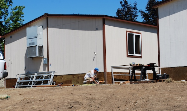 Work on North Plains portables
