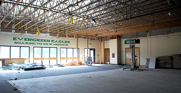 Cafeteria renovations