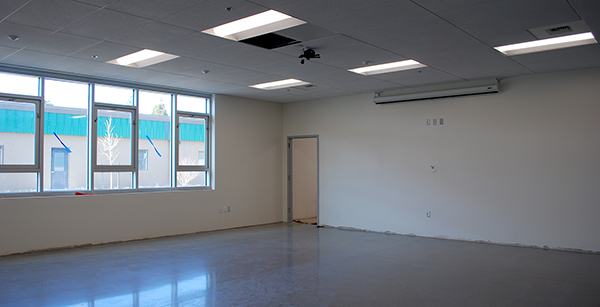 nearly-complete classroom