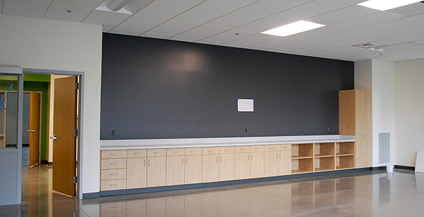 classroom cabinetry