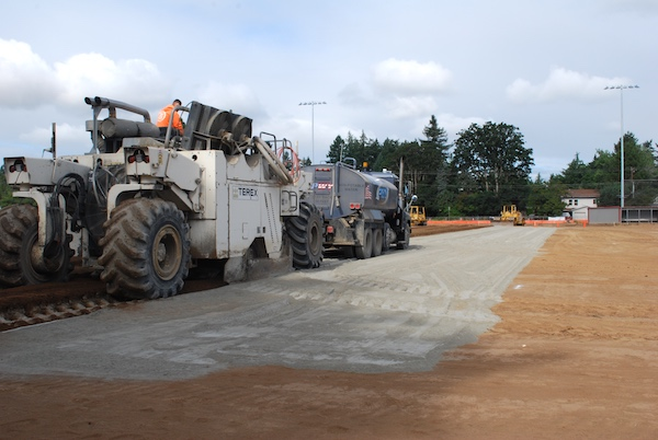 Concrete amendment added to Glencoe field