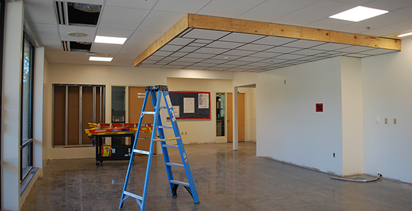 main office renovation