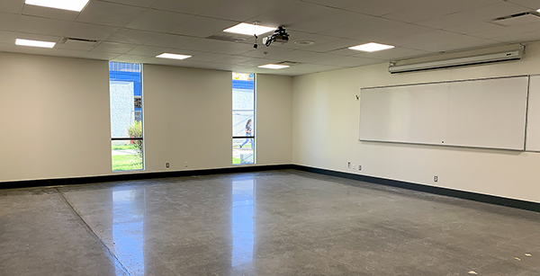 nearly-finished social sciences classroom