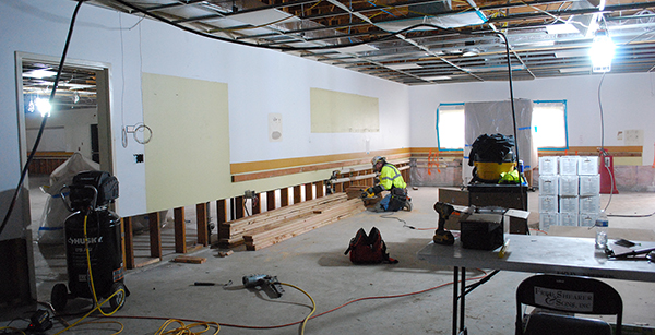 renovation of math and science classroom