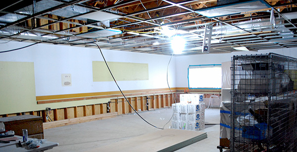 renovation of science lab