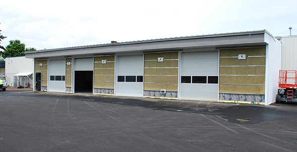 exterior of auto tech expansion