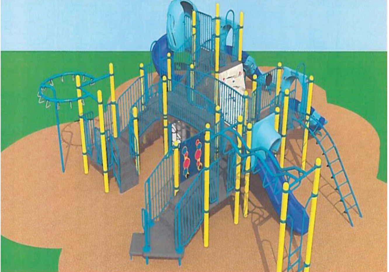 Image of playground structure