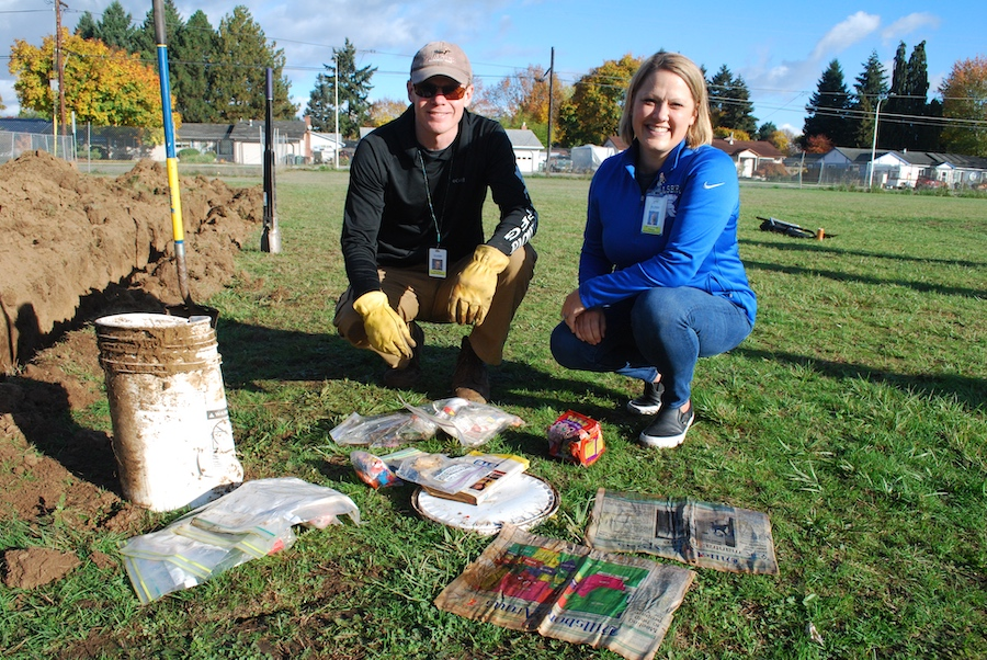 Brookwood 1999 time capsule unearthed