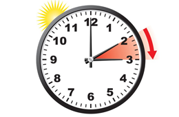 Daylight Saving Time Begins