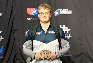 Century Wrestler Becomes All-American