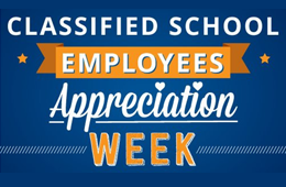 Classified Staff Appreciation Week