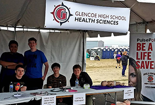 GHS Health Sciences Students Give Back