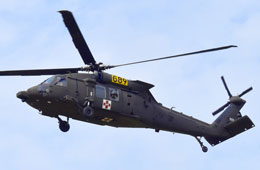 Black Hawk Helicopter Lands at Poynter Middle School for Special Air Show Event