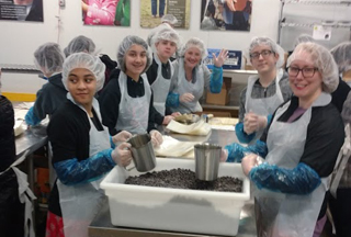 Field Trip to Oregon Food Bank