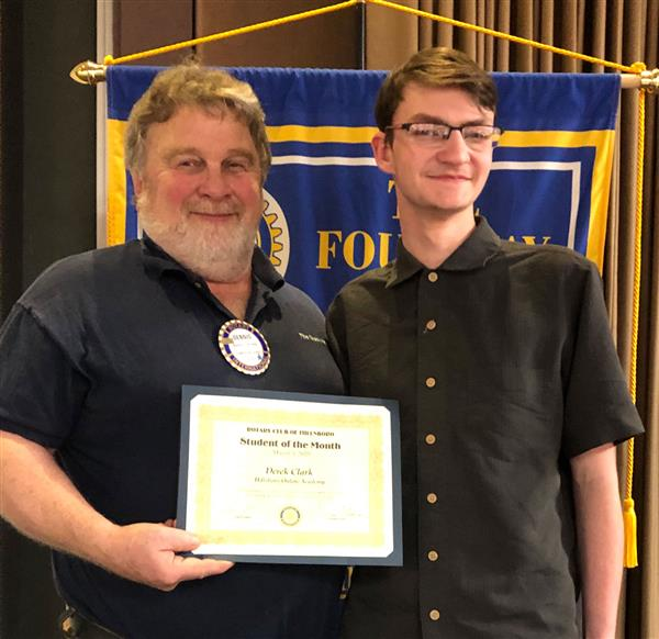 Rotary Student of the Month: March