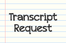 Transcript Request for HOA students & graduates
