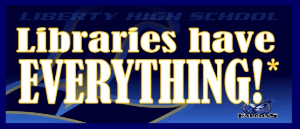 Libraries have everything graphic