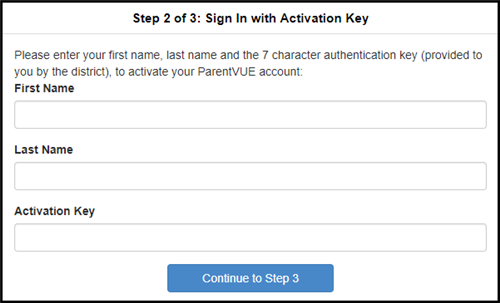 Enter name and key code