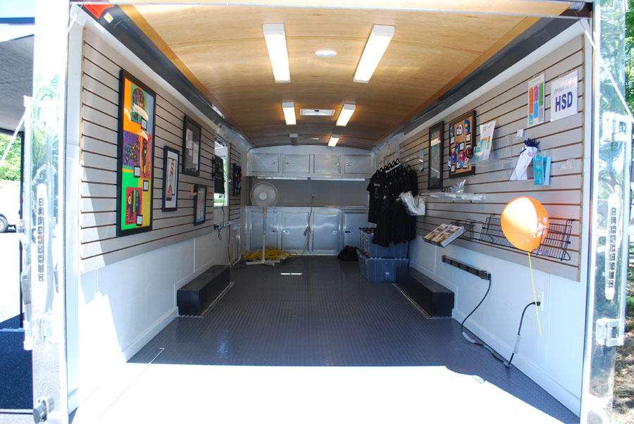 Proud to be HSD Trailer interior shot
