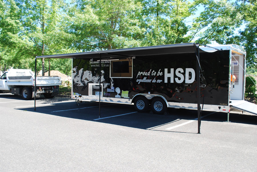 Proud to be HSD trailer side shot