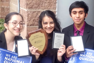 Three Glencoe Students Qualify for Speech and Debate Nationals