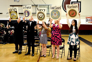 Glencoe Honors Veterans