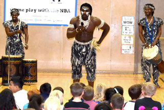 Groner K-8 African Dance and Drum Assembly