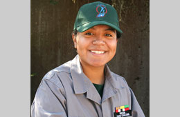 Featured Student: OYCP Overall Outstanding Cadet Yesenia Reyes Sanchez