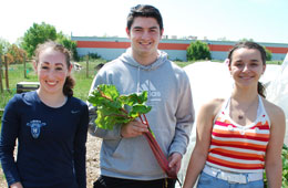 Liberty Senior Earns Grant for Sustainable Agriculture Program