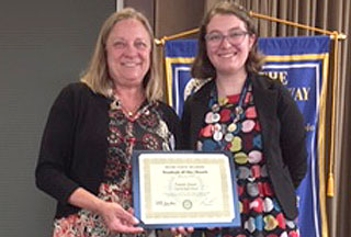 Emma Jones: Liberty High Rotary Student of the Month