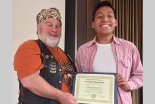 Bryan Gregorio: Century Rotary Student of the Month