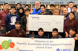 Featured Event: PepsiCo Sustainable STEM Explorers Launch Event at Hilhi