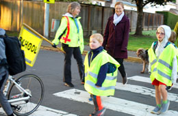 Featured Event: Walk and Roll to School Day