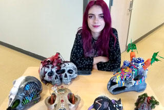 HSD Students Win Big At Oregon Scholastic Art Awards