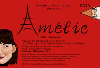 Liberty Theatre: Amelie The Musical