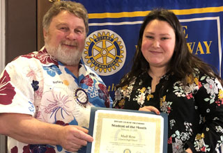 Madi Ross: Glencoe Rotary Student of the Month