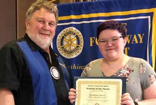 Maddeline Moore: Hillsboro Big Picture Rotary Student of The Month