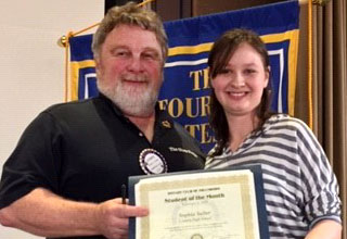 Sophia Salter: Century Rotary Student of The Month