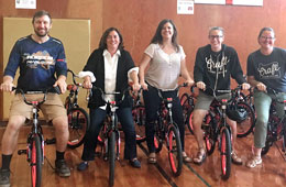 Featured Event: Local Organizations Donate New Bikes and Helmets at Reedville Elementary