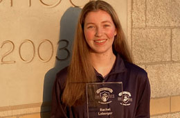 Featured Student: Rachel Loberger - Semper Fidelis All-American