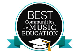 HSD Recognized for Music Education